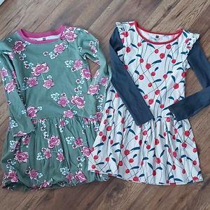 Tea Brand Cotton Dress Bundle - Girls Size 7